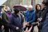 Eusko Jaurlaritzak Lemoako Aramotz mendilerroan aurkitu dituzten Gerra Zibileko borrokalari baten gorpuzkiak lurpetik ateratzen parte hartu du