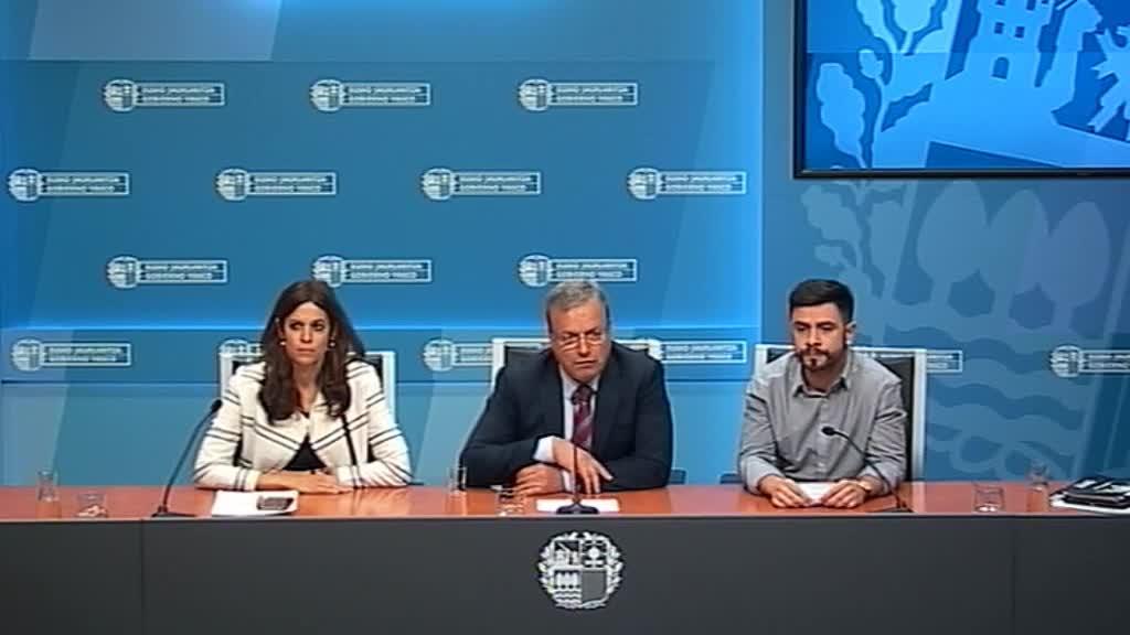 El consejero Retortillo pide que se defienda Donostia y Gipuzkoa como un buen lugar para organizar congresos y se garantice el normal funcionamiento de la Cumbre de la OMT