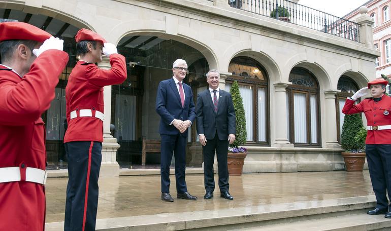 Lehendakariak eta Flandriako ministro presidenteak lankidetzan jardungo dute etorkizuneko Europan eskualdeen eginkizuna sendotzeko