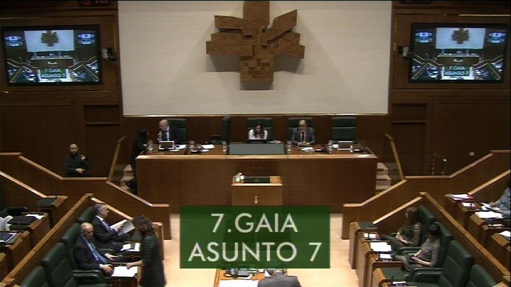 Interpelación formulada por D.ª Oihana Etxebarrieta Legrand, parlamentaria del grupo EH Bildu, al Lehendakari, sobre la lectura que el Consejo Económico y Social Vasco ha realizado del VII Plan para la Igualdad de Mujeres y Hombres en Euskadi