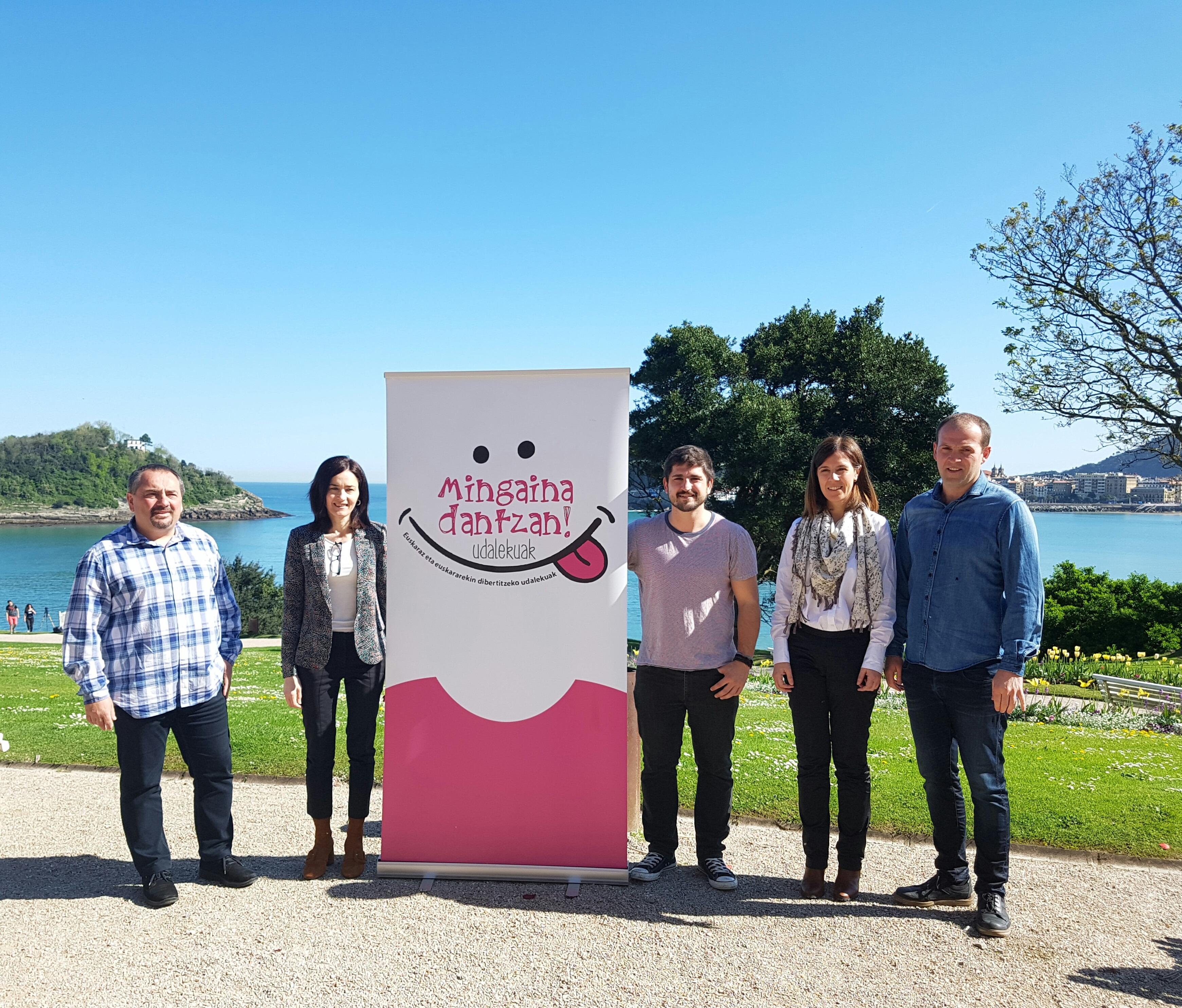 El Departamento de Cultura y Política Lingüística del Gobierno Vasco ha presentado la segunda edición de las colonias de verano Mingaina Dantzan, un proyecto que servirá para desarrollar una investigación sociolingüística en torno al uso del euskera