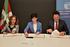 La consejera de Seguridad firma un convenio con Fundación AXA y AESLEME para informar y sensibilizar al alumnado de los centros educativos en prevención de accidentes de tráfico