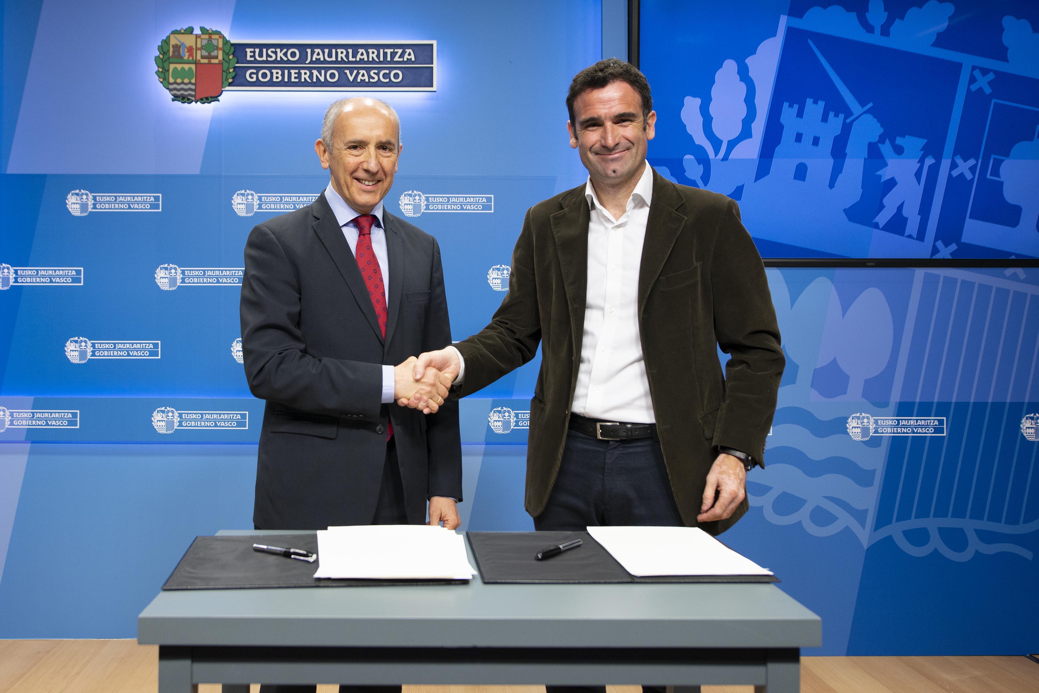 Gobierno Vasco y FUNKO firman un convenio para la financiación de actividades que permitan fortalecer el asociacionismo fundacional