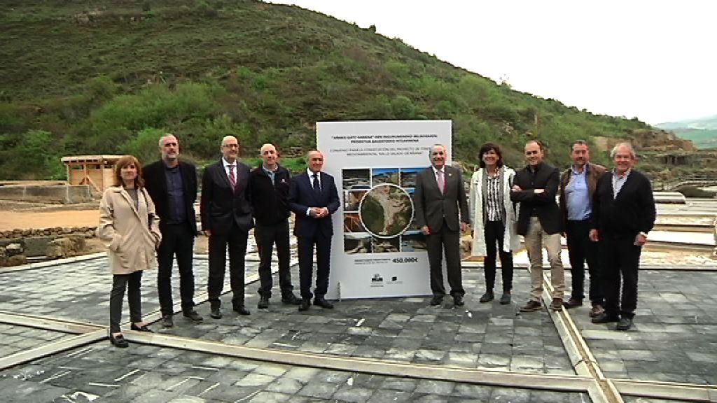 Se abre al público un itinerario ecológico que descubre los valores medioambientales del Valle Salado de Añana y su entorno