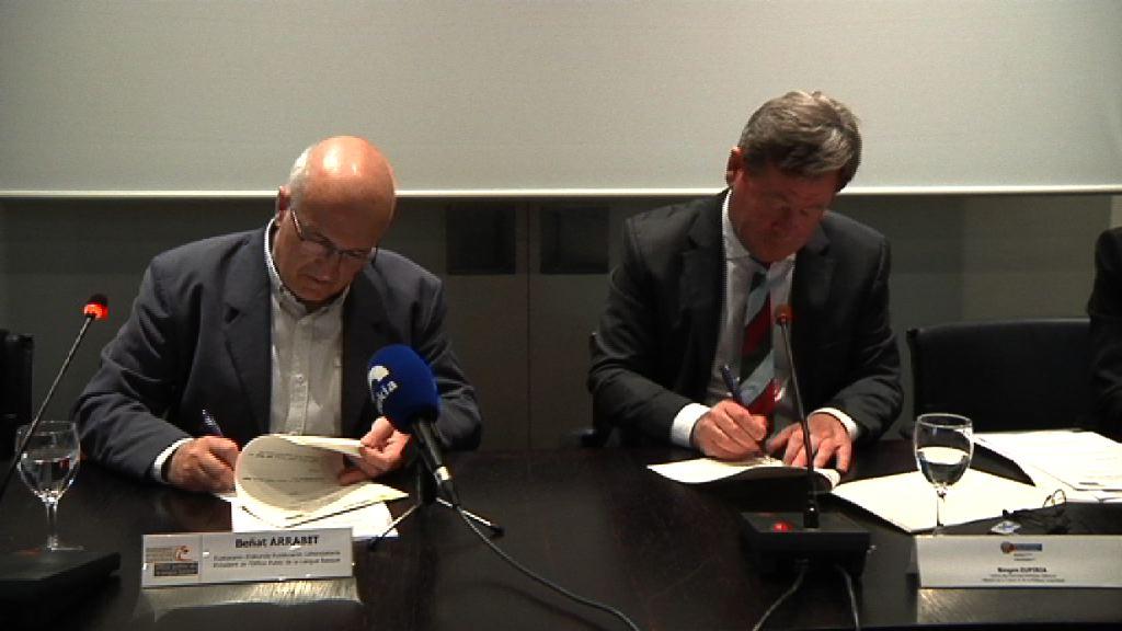 El Gobierno Vasco y la Oficina Pública de la Lengua Vasca destinarán este año 1.930.000 euros a impulsar el euskera en Iparralde
