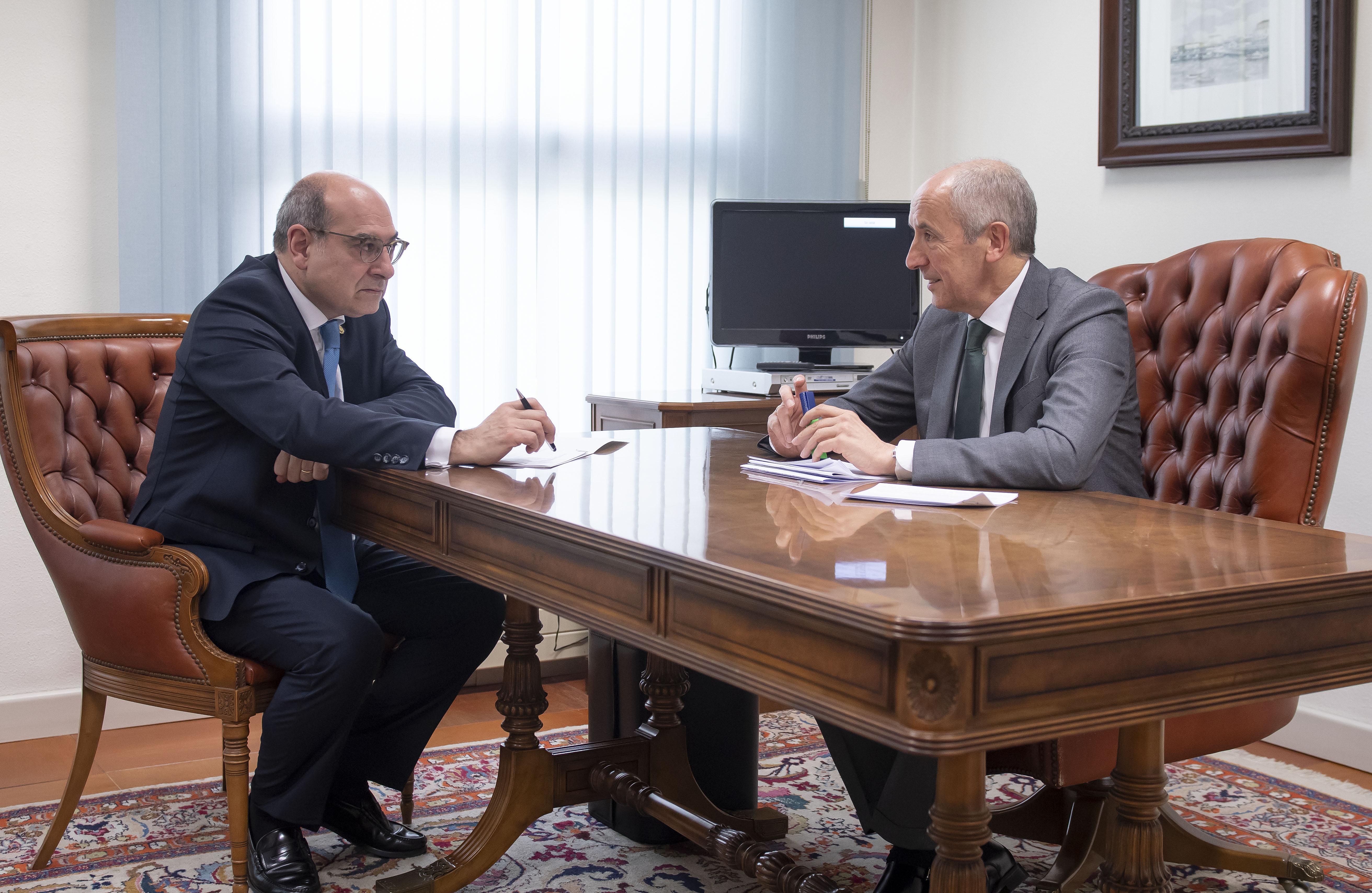 El Lehendakari ha agradecido a los agentes internacionales su participación e implicación en el final de ETA
