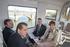 El Lehendakariconoce de primera mano  todas las actuaciones ferroviarias de la línea Hendaia-Donostia de Euskotren