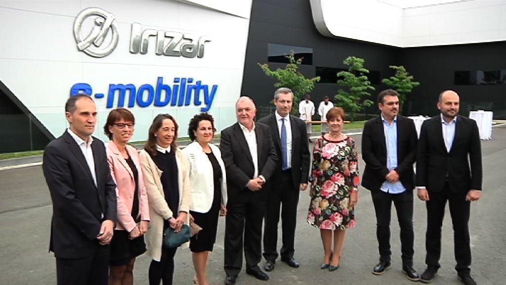 Eusko Jaurlaritza Irizar e-mobilityren instalazio berrien inaugurazioan izan da
