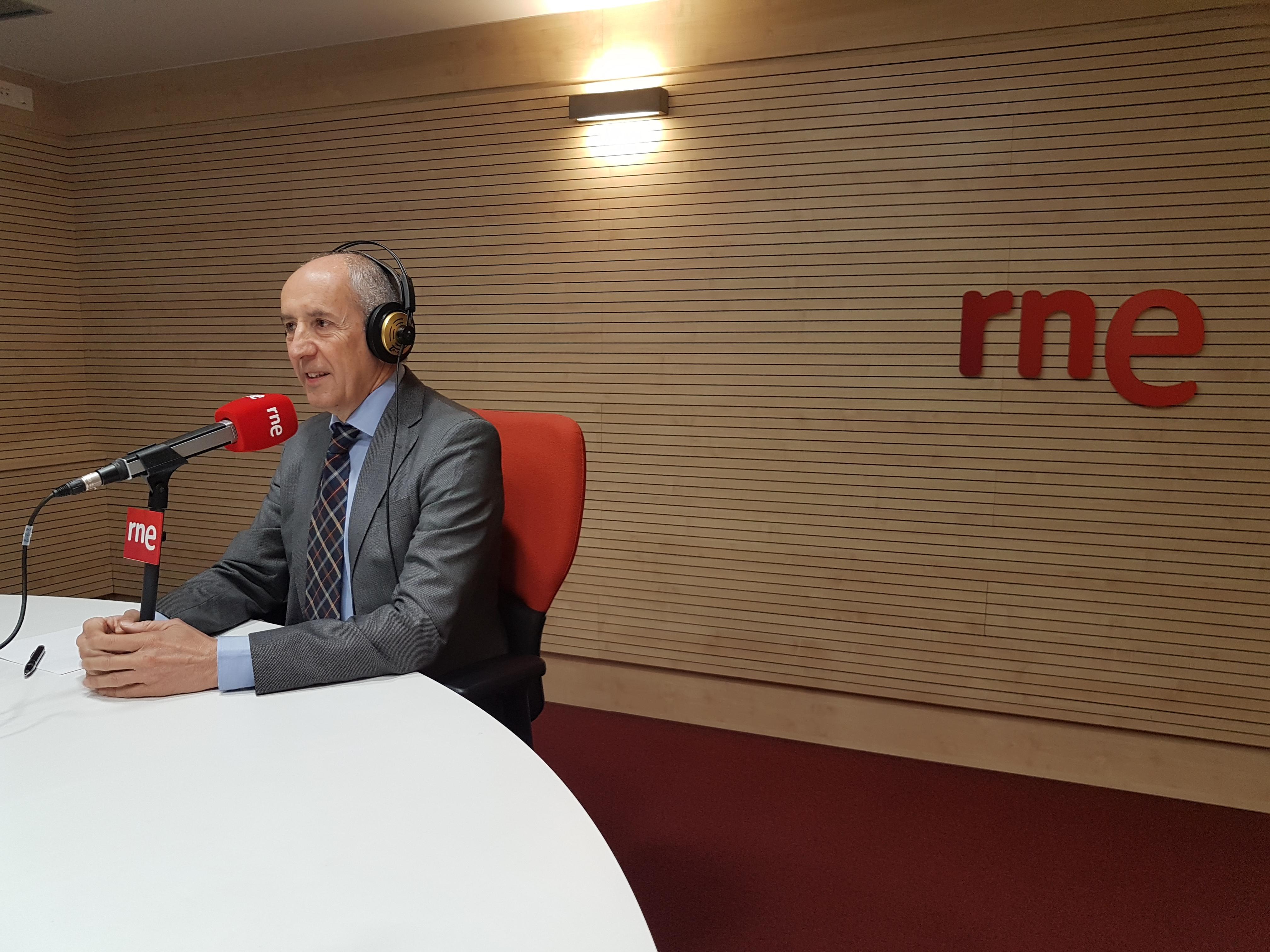 Josu Erkorekari elkarrizketa Radio Nacional de España irratian