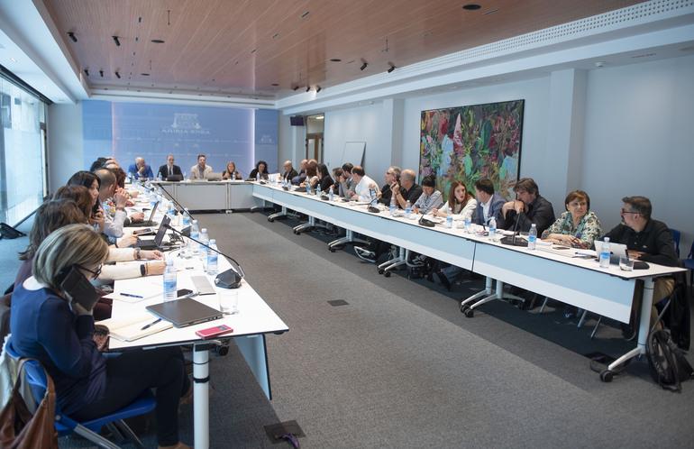 Euskal instituzioak eta gizarte zibila bildu dira OGP Local Programme Euskal Gobernu Eredu Irekiaren Ekintza Plana batera sortzeko