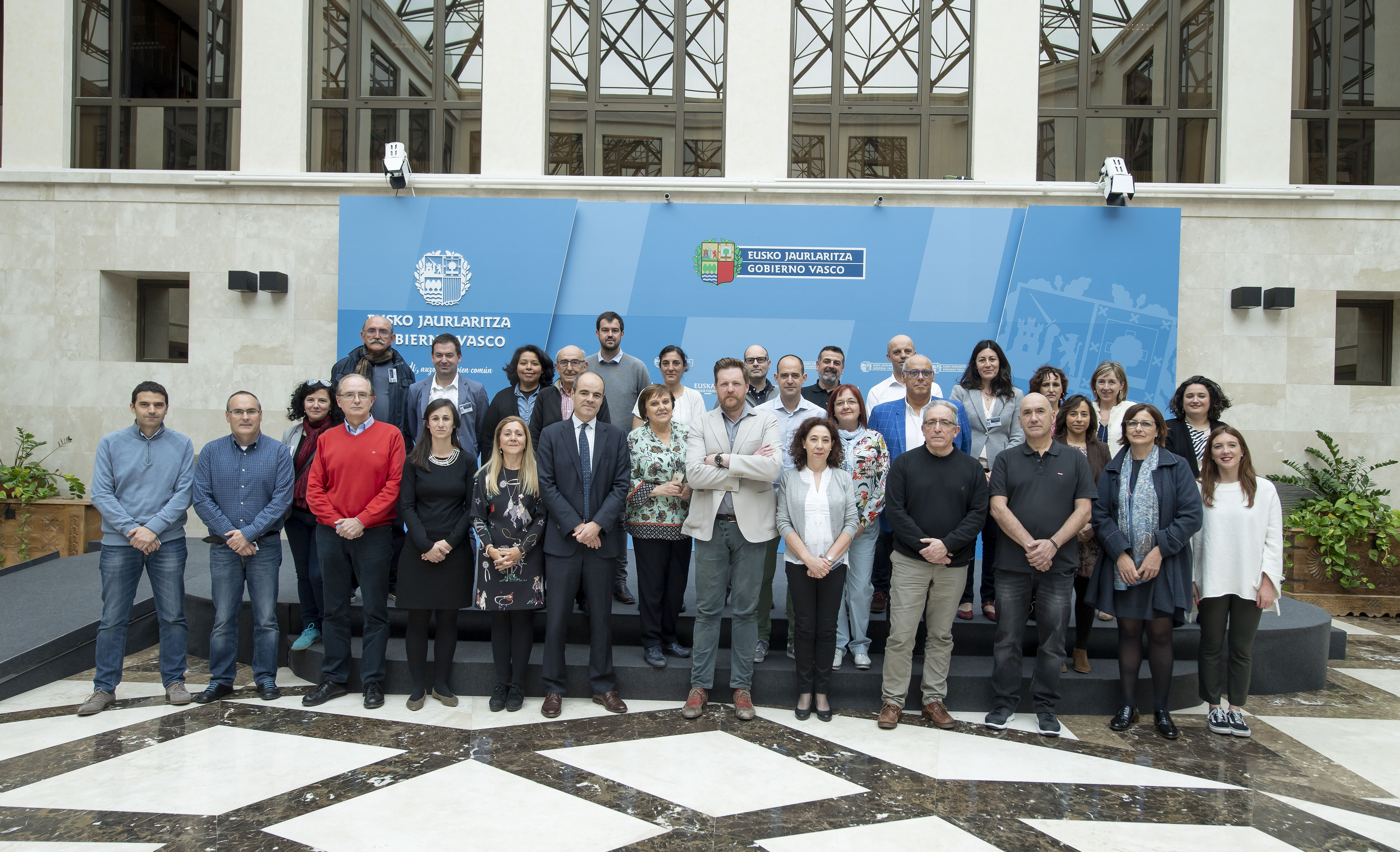 Las instituciones vascas y la sociedad civil se reúnen para la co-creación del Plan de Acción d  (Open Government Partnership – OGP  Euskadi)