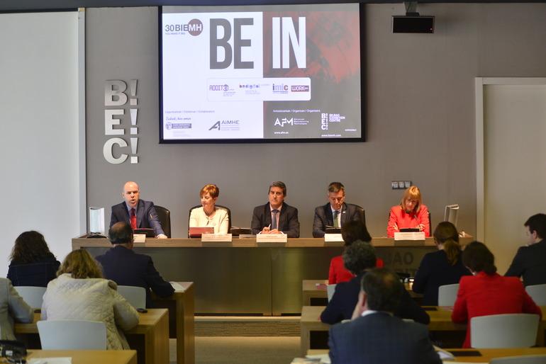 """Tapia: """"Euskadin Industriaren pisua %24,2koa da dagoeneko"""""""