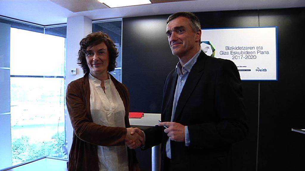EiTB y el Gobierno Vasco renuevan su acuerdo para el desarrollo del Plan de Convivencia y Derechos Humanos