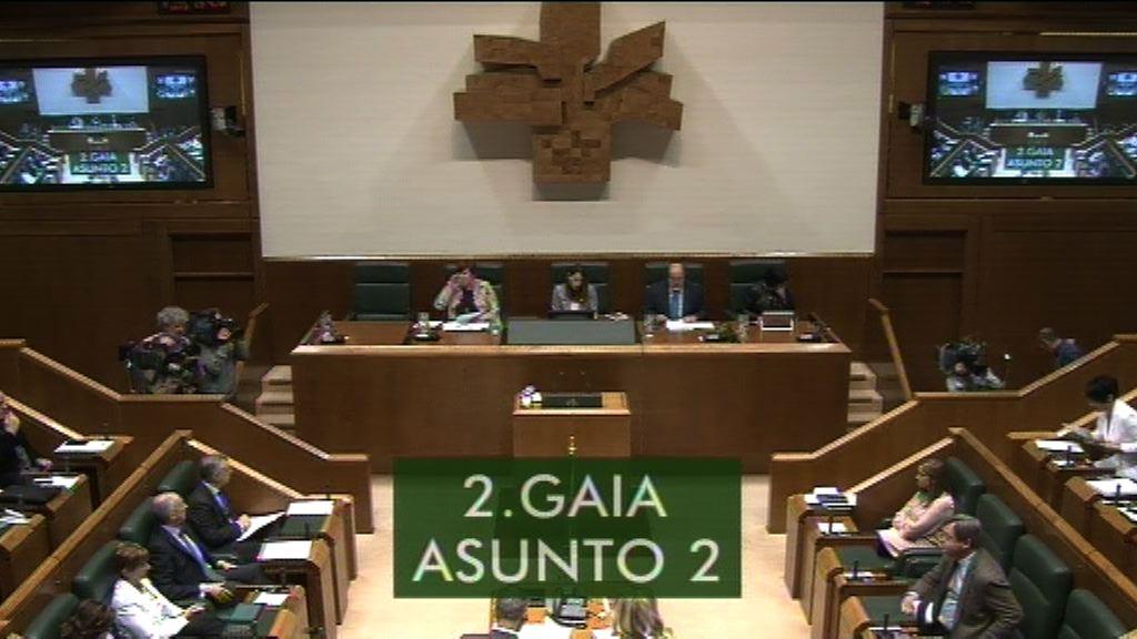 Maddalen Iriarte pregunta al Lehendakari sobre los Presupuestos del Estado