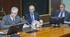 Josu Erkoreka y Josu Iradi comparecen en la Comisión de Instituciones, Seguridad y Gobernanza Pública