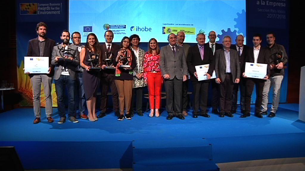 A&B Laboratorios, Iberdrola, Ternua, Ekolber eta Lanteko Berria: Europako Ingurumen Sarien Euskadiko irabazleak
