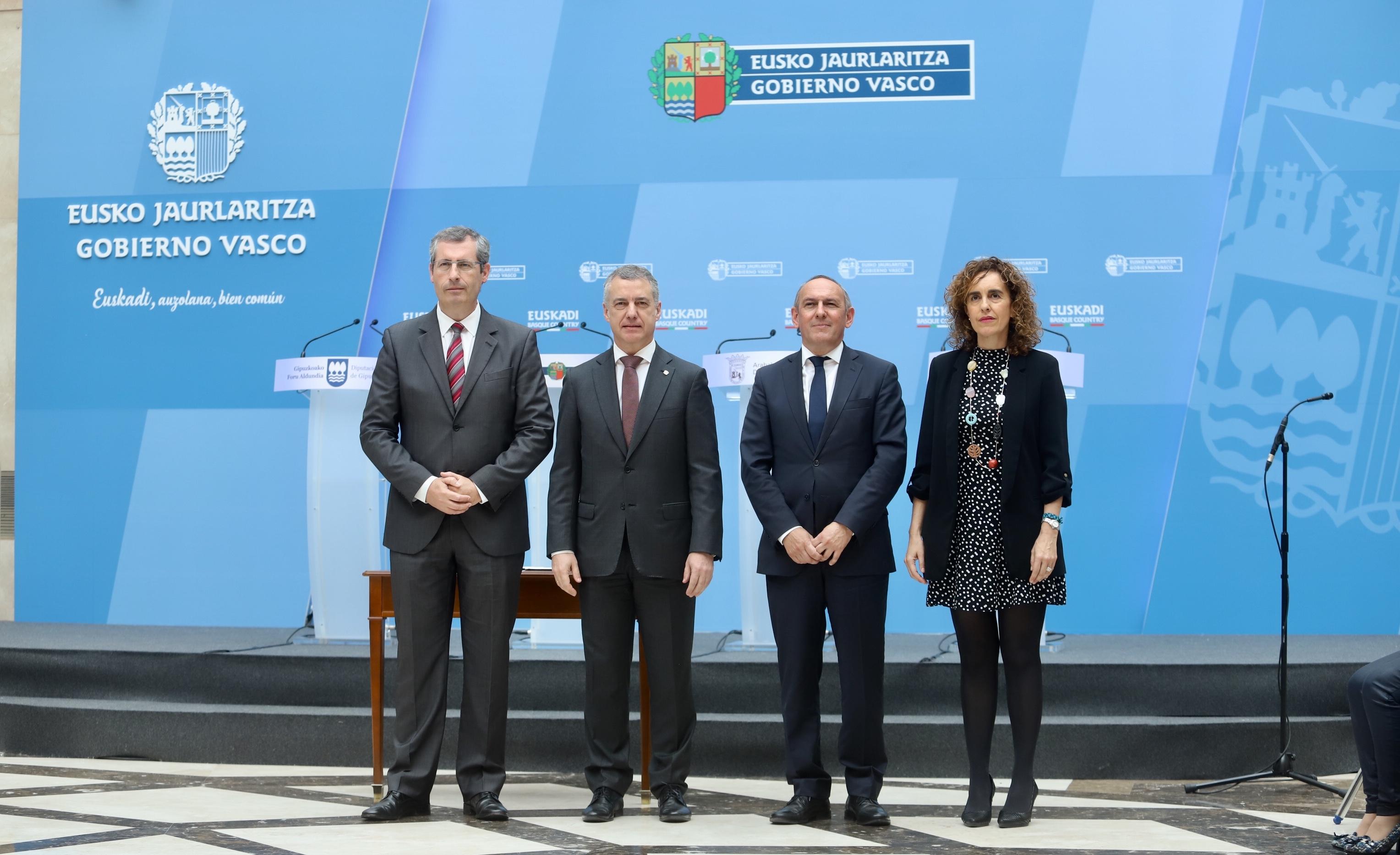 """El Gobierno Vasco transfiere a las tres diputaciones forales la gestión, personal y servicios de los denominados """"Archivos Históricos Provinciales"""""""
