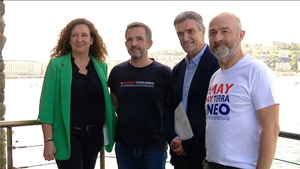 Gobierno Vasco y Salvamento Marítimo colaboran para la puesta en marcha de un nuevo barco de rescate humanitario en el Mediterráneo