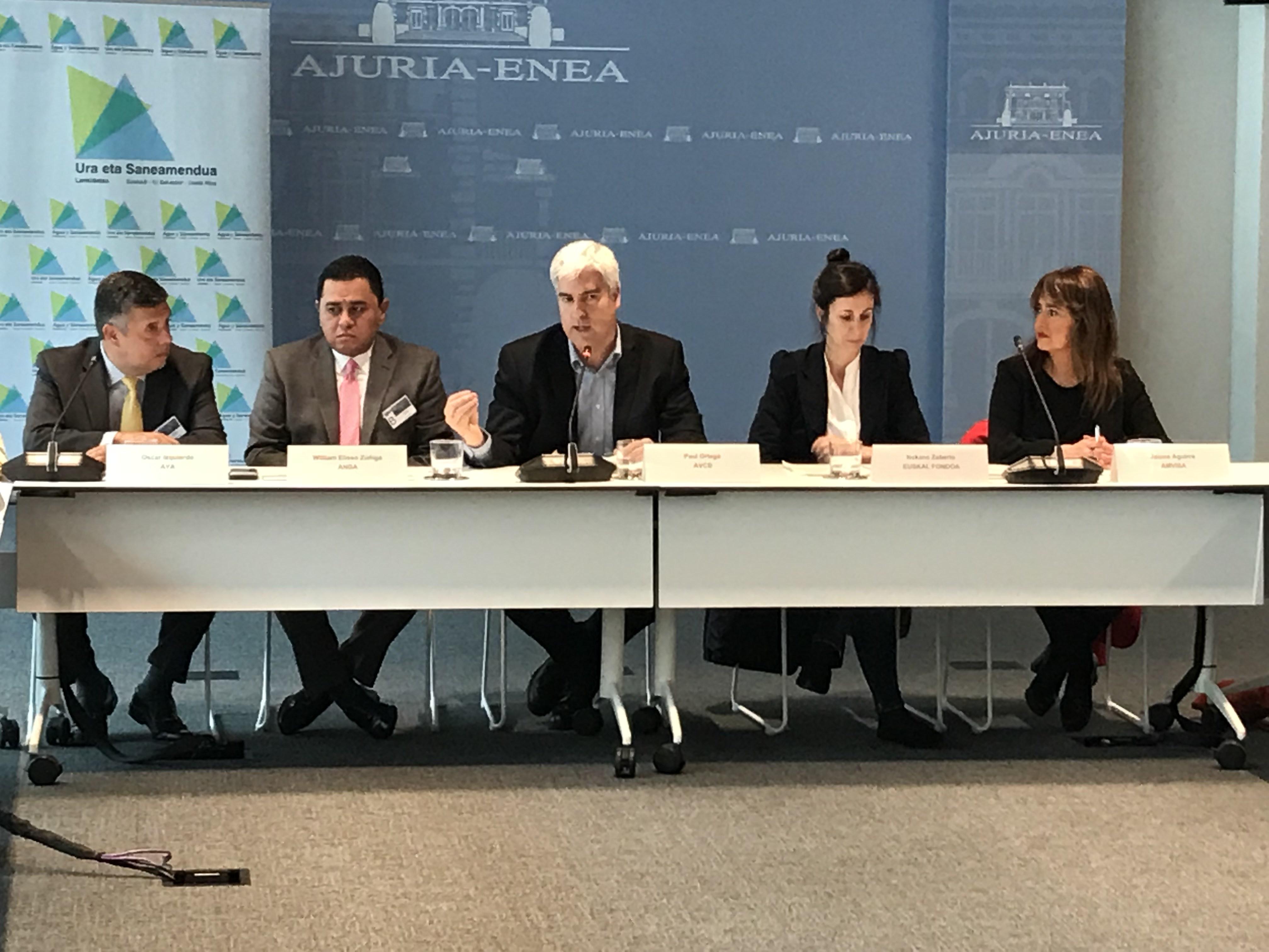 Euskadi facilitará asesoría técnica y mejorará infraestructuras de agua y saneamiento en Centroamérica