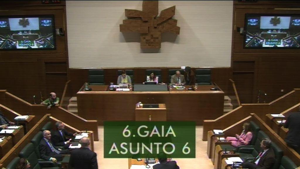 Iker Casanova pregunta al Lehendakari sobresobre la retirada del acuerdo marco a favor del empleo y de la cualificación en Euskadi 2018-2020
