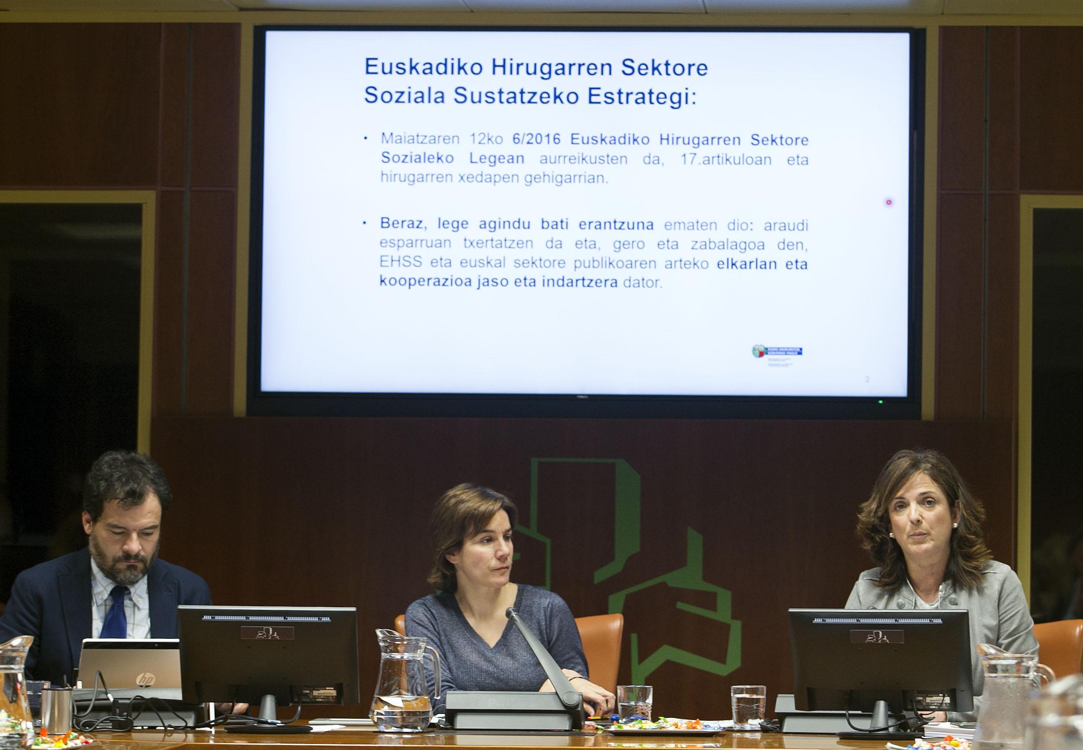 """Artolazabal: """"La  Estrategia de Promoción del Tercer Sector Social aumentará la capacidad vasca ante retos y necesidades de diversos colectivos en la construcción de una sociedad solidaria y cohesionada"""""""