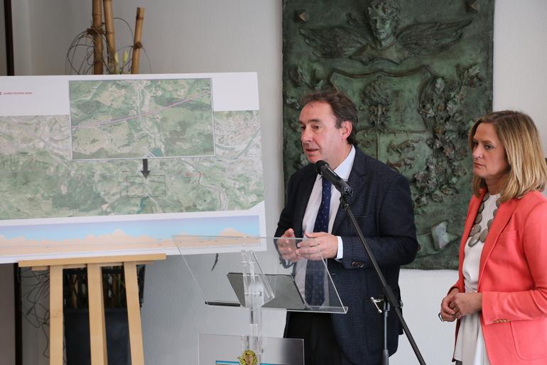 El Gobierno Vasco presenta al Ayuntamiento de Barakaldo su alternativa de trazado de la VSF al paso por el municipio