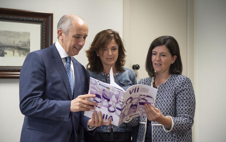 El Gobierno aprueba la nueva hoja de ruta de las instituciones vascas en igualdad de mujeres y hombres (Consejo de Gobierno 19-06-2018)