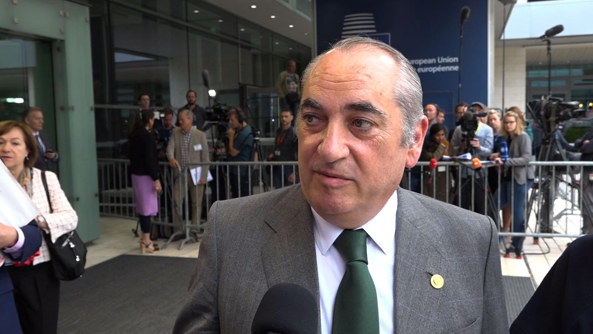 El consejero Arriola expresa ante los ministros de Medio Ambiente el apoyo de las regiones al modelo de economía circular de la Unión Europea