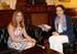 La Consejera Mª Jesús San José se reúne con Magdalena Valerio, Ministra de Trabajo, Migraciones y Seguridad Social