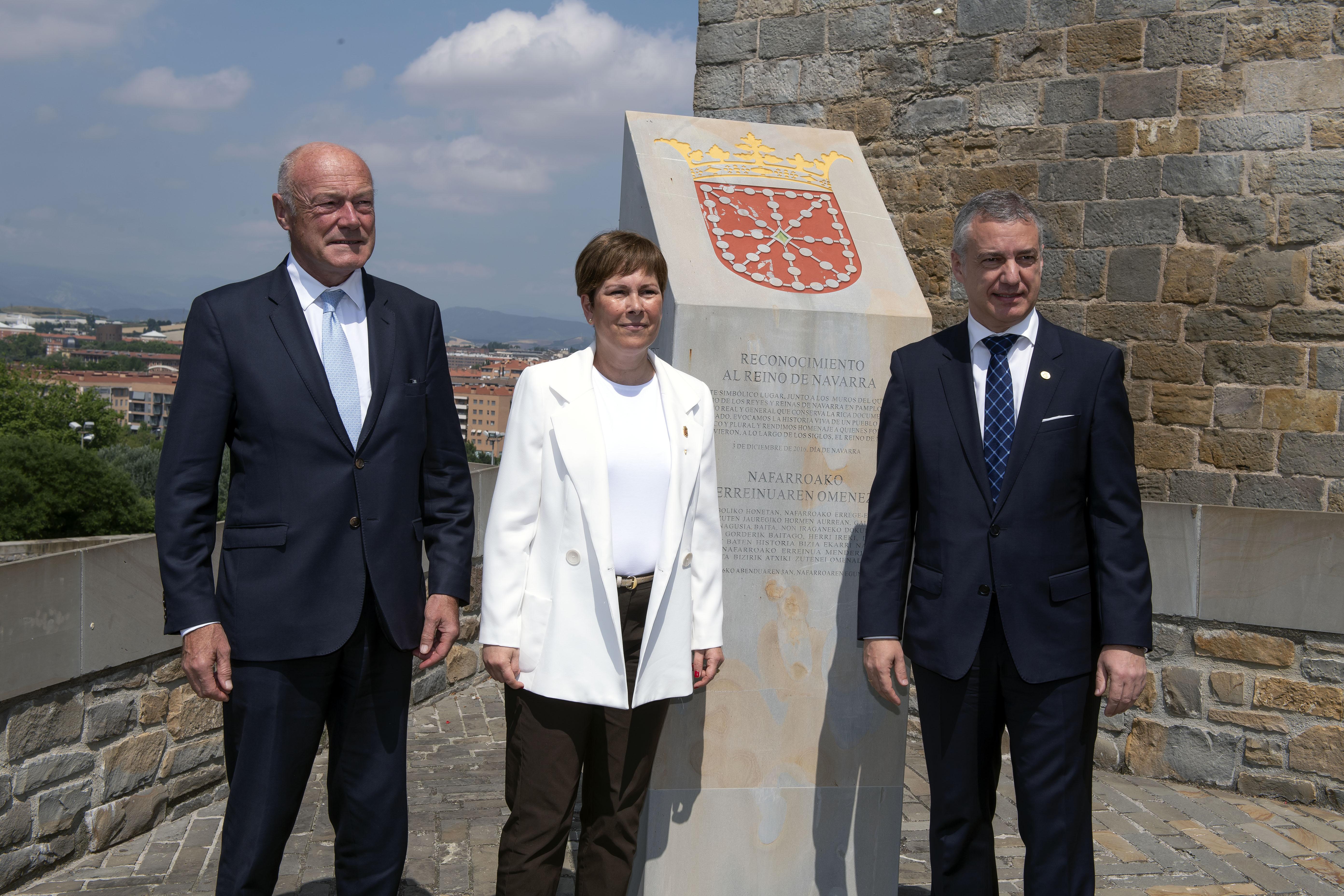 """El Lehendakari manifiesta la determinación de """"seguir creciendo juntos"""" por una Europa """"fuerte, avanzada, solidaria y mejor"""""""