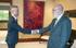 El Lehendakari recibe al nuevo delegado del Gobierno español en Euskadi