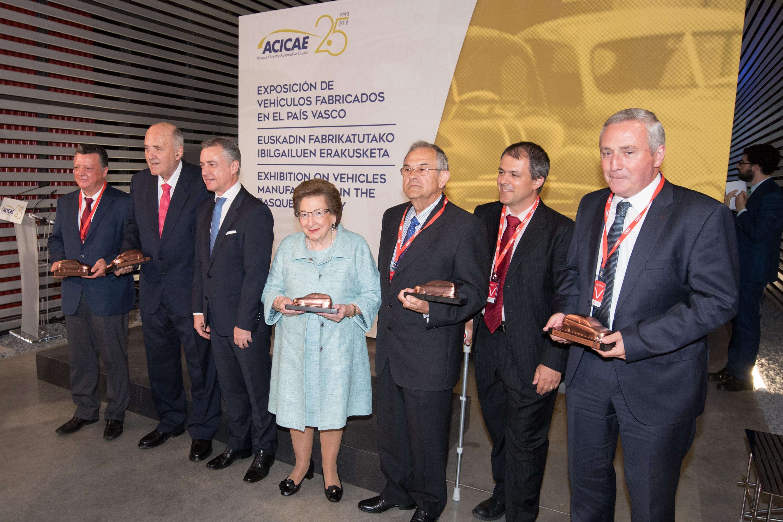 Lehendakaria ACICAE-Euskadiko Automozio Klusterraren 25. Urteurrena dela-eta antolatu den ekitaldira joango da