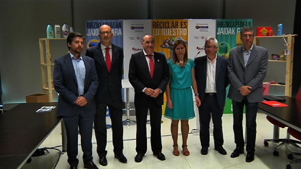 Euskadi quiere reciclar el 70% de los residuos en los hogares, promoviendo los principios de la economía circular