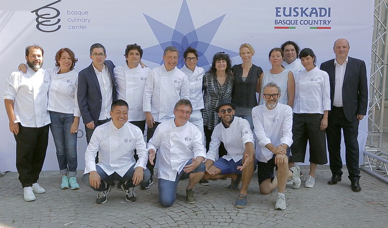 El chef escocés Jock Zonfrillo ganador del Basque Culinary World Prize 2018