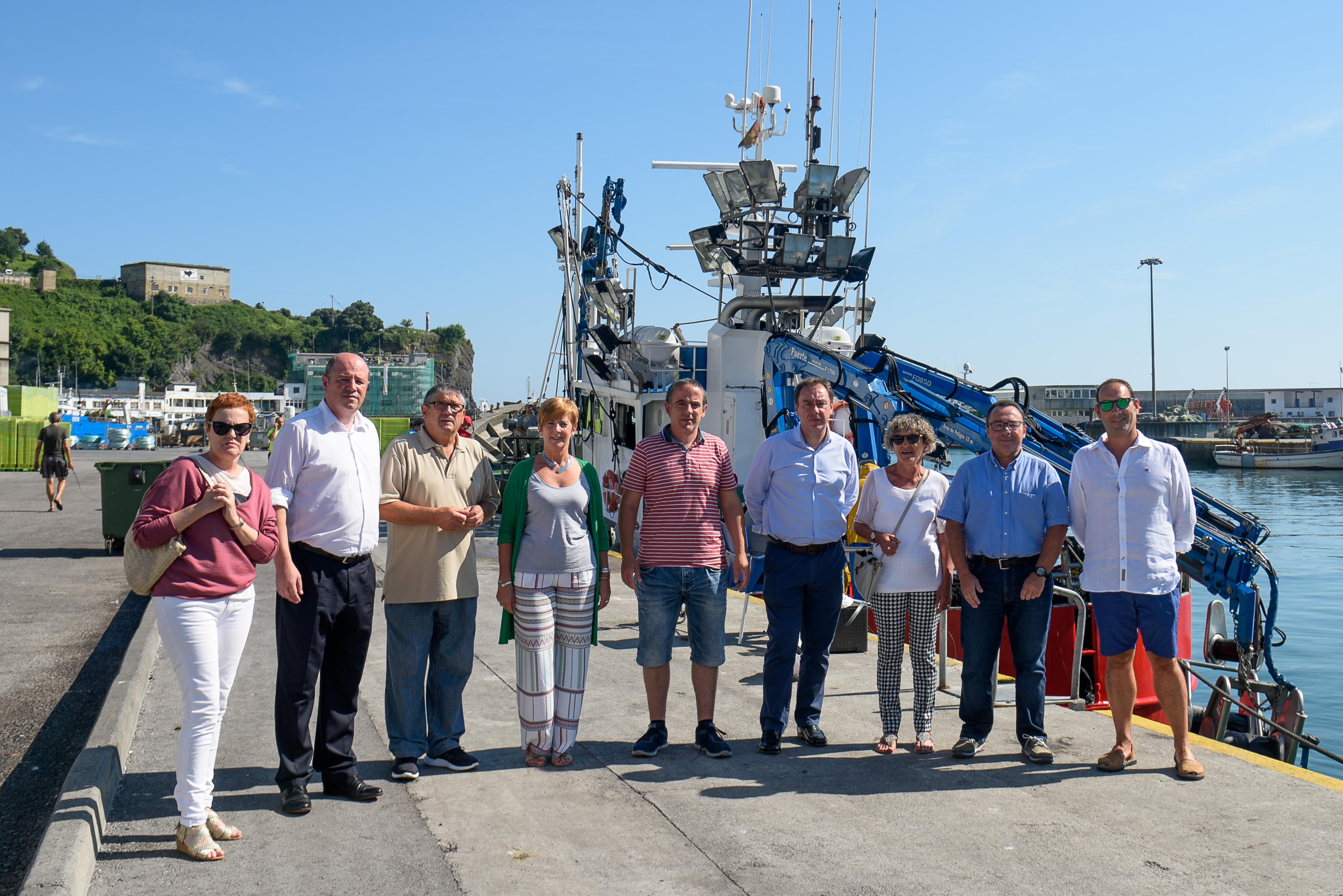 El Gobierno Vasco anuncia la licitación de la obra de la nueva lonja de pescado de Ondarroa