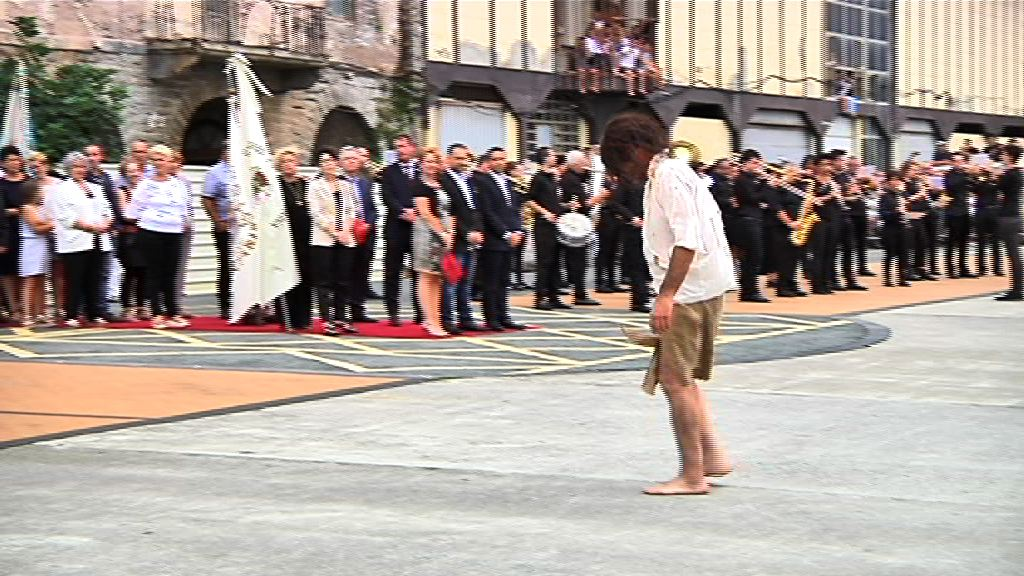 El Gobierno Vasco ha asistido a la representación del desembarco de Juan Sebastián Elcano en Getaria