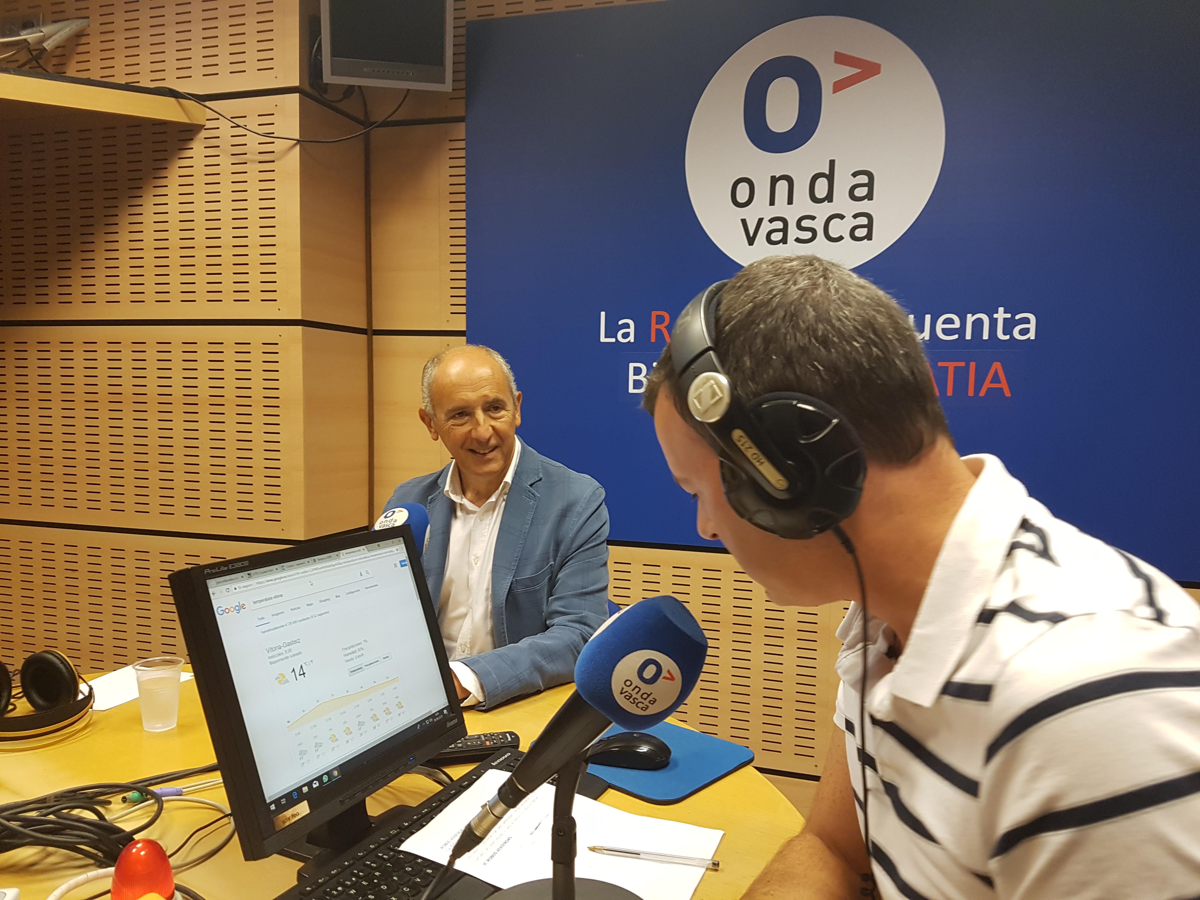 Gobierno Vasco tiene interés en que se haga un plan de trabajo que incluya el grueso de las transferencias