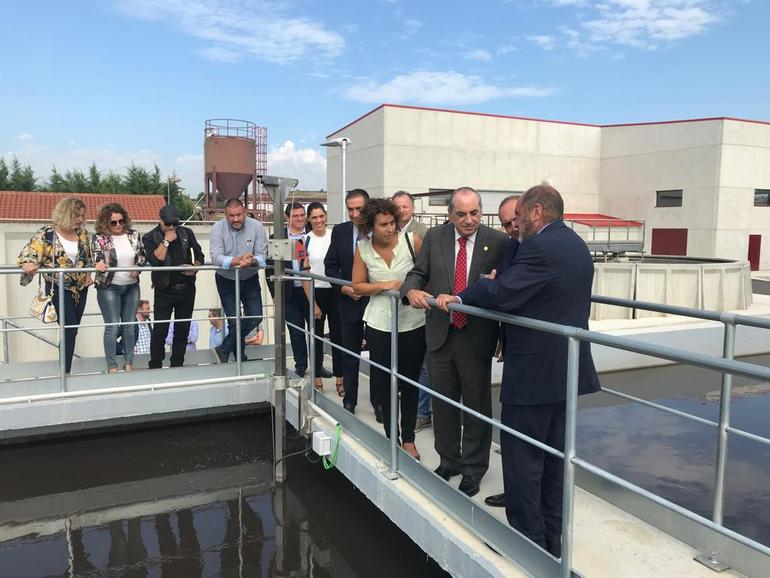 La nueva depuradora de Oyón-Oion garantiza un tratamiento completo de las aguas residuales y una capacidad de depuración de casi 600.000 m3 al año