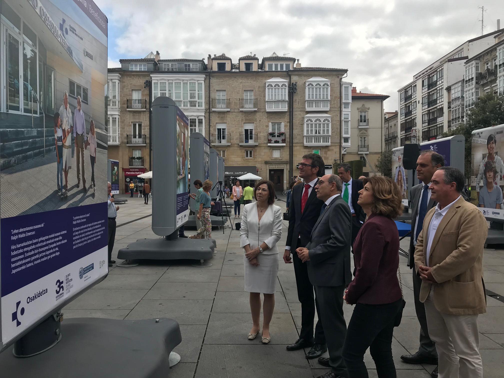"""Jon Darpón: """"Nuestro sistema público de salud es una conquista de toda la sociedad vasca y un patrimonio que hoy más que nunca debemos preservar"""""""