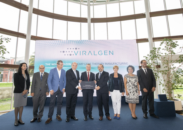 The Basque Government attends the opening of the Viralgen gene therapy centre, the only one of its kind in Europe and the first to develop viral vectors