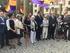 Beatriz Artolazabal y Estefanía Beltrán de Heredia, en el homenaje de la Diputación Foral y las Juntas Generales de Araba/Álava a las personas represaliadas por la dictadura franquista