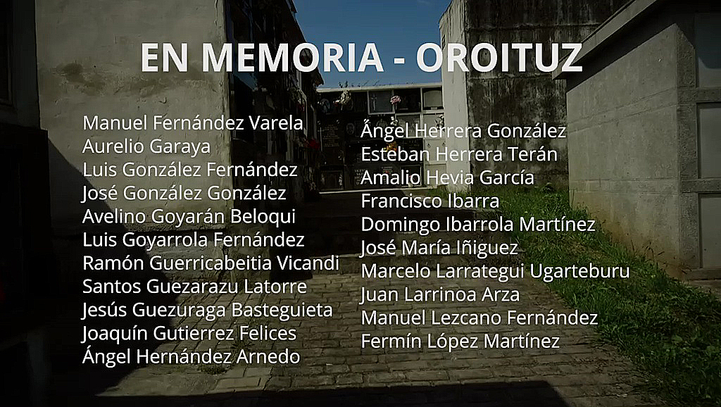 """Gobierno vasco, cántabro y asturiano otorgan a 86 víctimas de la Guerra Civil """"el lugar que merecen en la memoria democrática"""""""
