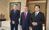El Lehendakari recibe a responsables de la Orquesta Sinfónica de Euskadi