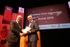 Josu Erkoreka recoge el 'Vodafone Deia Innovation Saria', al servicio de la ciudadanía, concedido a la sociedad informática del Gobierno Vasco