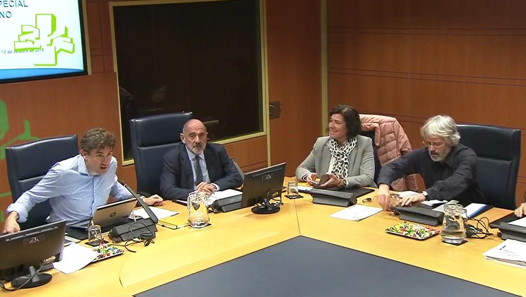Comisión de Medio Ambiente, Planificación Territorial y Vivienda (10/10/2018)
