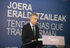 """El Lehendakari asegura que la evolución de la economía vasca define un """"marco de confianza"""" para seguir creciendo y generando empleo"""