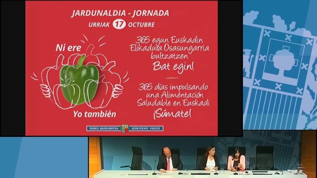 365 egun Euskadin elikadura osasungarria sustatzen