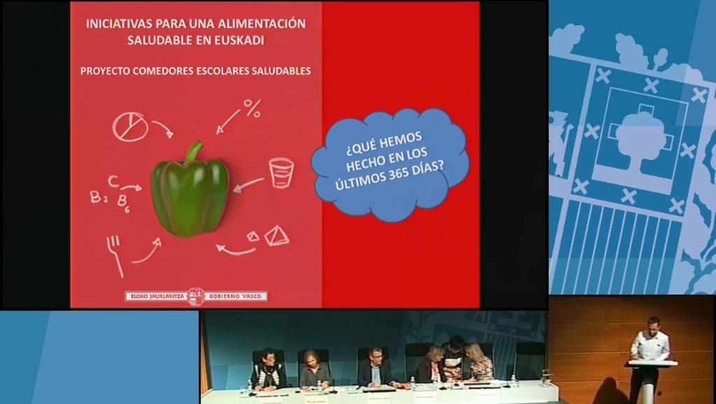 365 días impulsando una alimentación saludable en Euskadi