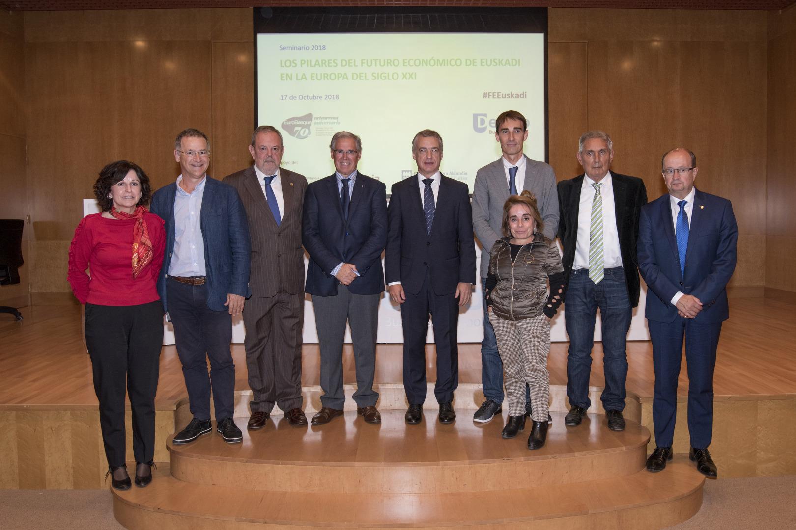 """El Lehendakari asegura que Euskadi afronta la """"agenda europea"""" con cercanía, realismo y compromisos"""