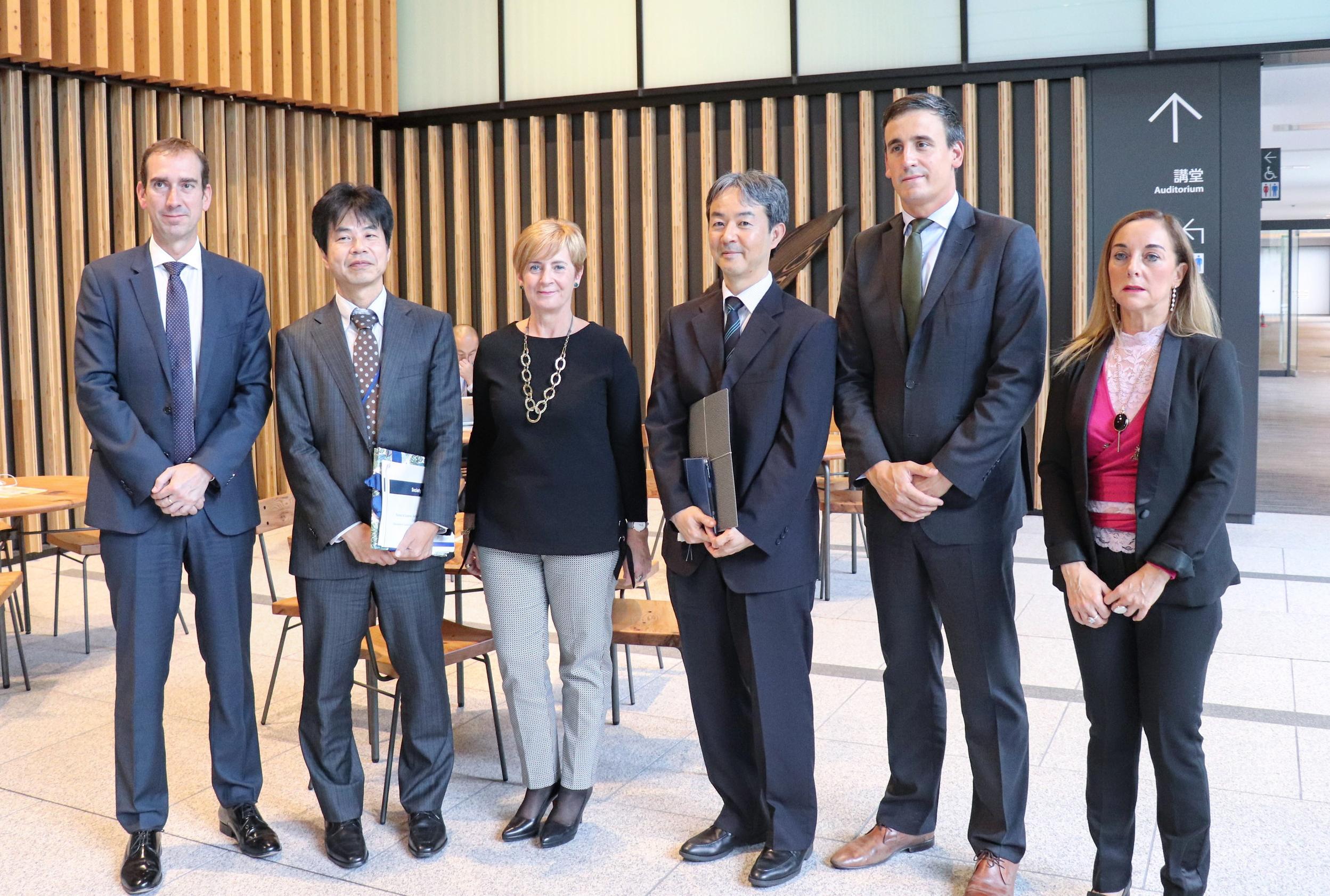Estrategias públicas para la sociedad 5.0 y Tecnologías de la información ejes de la segunda jornada de trabajo en Tokio